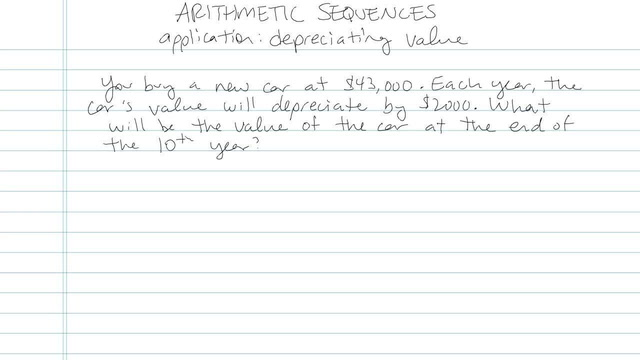 Arithmetic Sequences - Problem 6