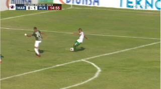 Platense ya gana 1-0 al Marathón en el Yankel