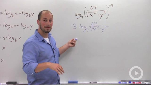 Expanding Logarithms - Problem 3
