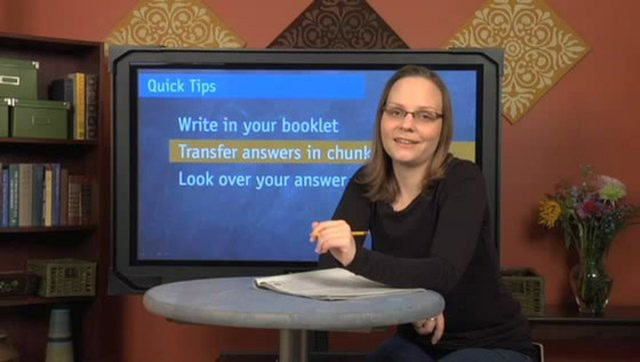 Tips for the SAT