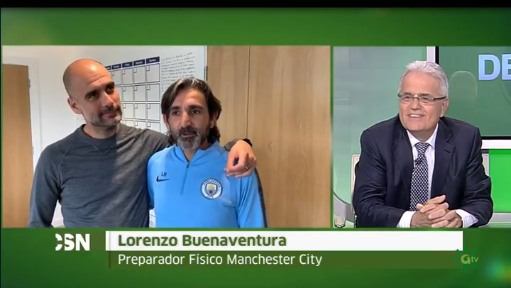 Pep Guardiola y Lorenzo Buenaventura, unidos gracias al doctor Cugat