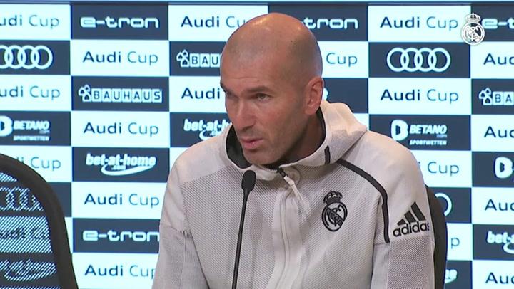 """Zidane: """"Estoy a muerte con mis jugadores"""