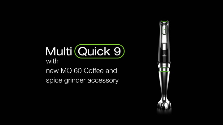 Preview image of Braun MultiQuick 9 1000W Hand Blender, MQ9038X video