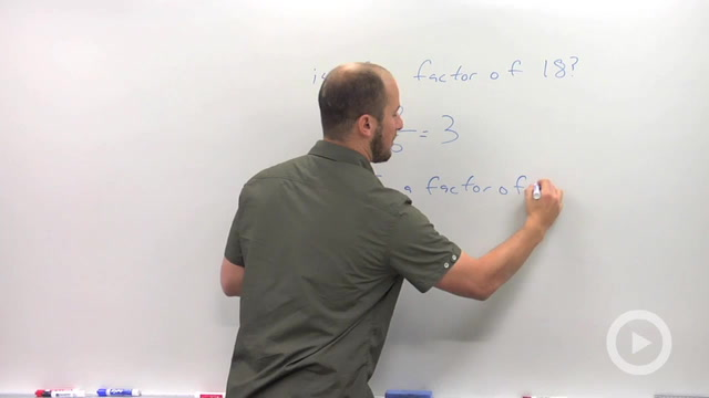 Using Synthetic Division to Factor