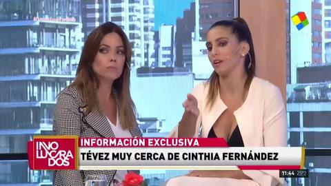 ¿Cinthia Fernández y Carlitos Tevez? Lo contestó en Involucrados