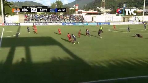 UPN 2-2 Motagua (Liga Nacional)