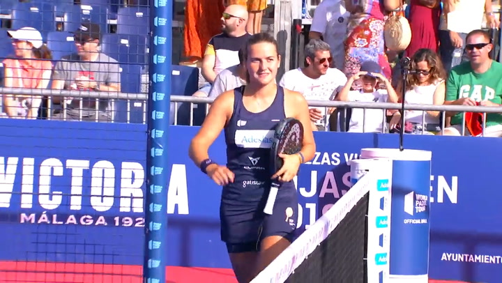 Resumen de la final femenina del Cervezas Victoria Mijas Open entre Salazar/Sánchez y Paula Josemaría/Nogueira