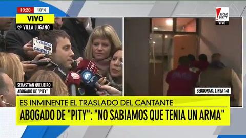 Pity Álvarez entra por momentos como en estado vegetativo, dijo su abogado