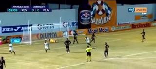 ¡Real España derrota al Platense en el Morazán con un agónico gol de Ramiro Rocca en el 98!
