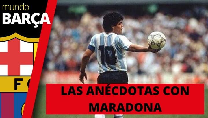 Ánécdotas sobre Maradona explicadas en primera persona