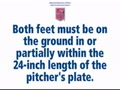Pitching Rules
