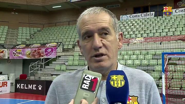 """Andreu Plaza: """"Tenemos una gran oportunidad de llevar el título a nuestras vitrinas"""""""