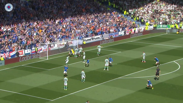 James Tavernier's expert free-kick downs Celtic at Ibrox