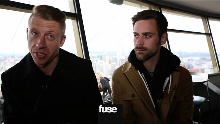 Interviews: Macklemore & Ryan Lewis Respond to 'SNL' Lip-Syncing Rumors