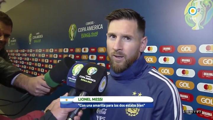 """Messi: """"No tenemos que ser parte de esta corrupción"""""""