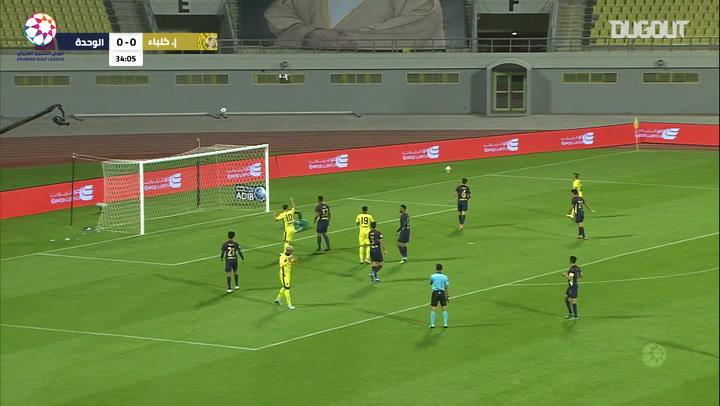 Highlights: Ittihad Kalba 0-0 Al-Wahda