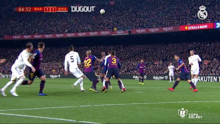 HIGHLIGHTS: BARCELONA 1-1 REAL MADRID
