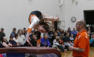 Morris/C-A gymnastics vs LP-GE/Browerville