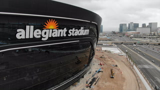 Raiders stadium gets its new name installed – VIDEO