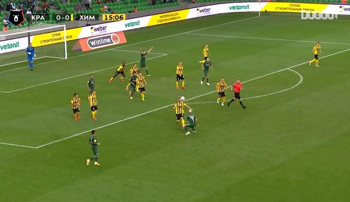 Krasnodar thrash Khimki in a goal frenzy