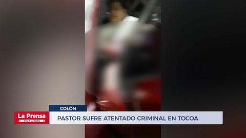 Pastor sufre atentado criminal en Tocoa, Colón
