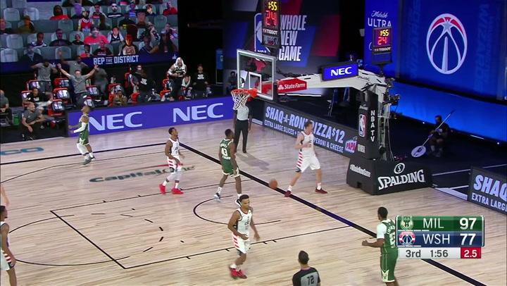 Las 10 mejores jugadas de la jornada de la NBA del 11 de agosto 2020