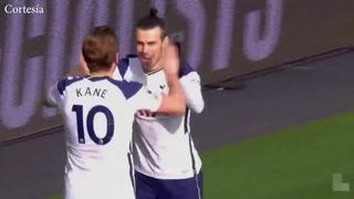 Gareth Bale anotó un doblete en el triunfo del Tottenham ante el Burnley