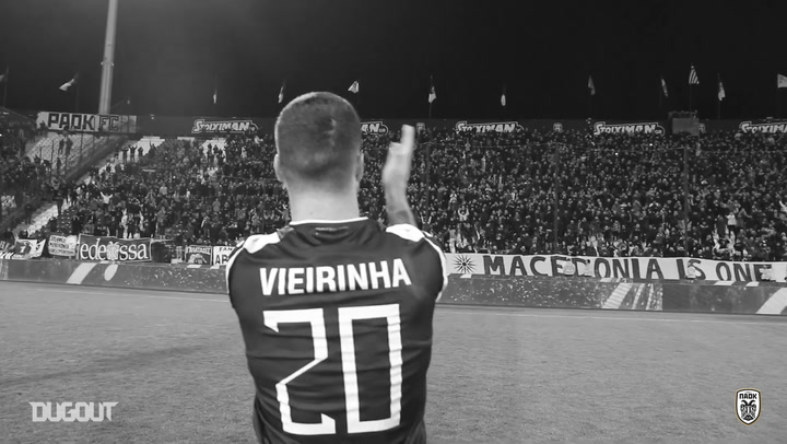 Vieirinha wins best foreign player in Greek Superleague award