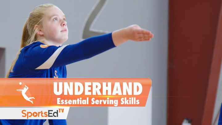 THE UNDERHAND SERVE