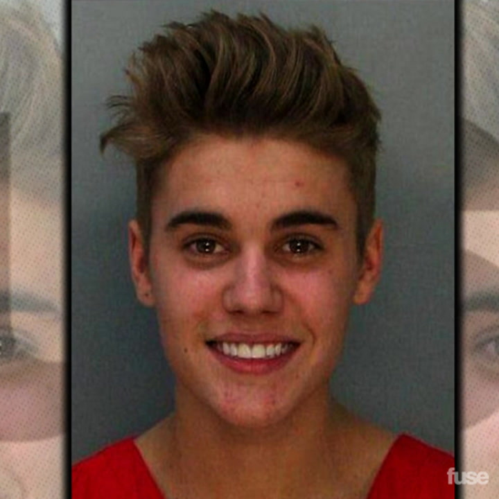 Justin Bieber Arrested in Miami & Smiles in Mugshot