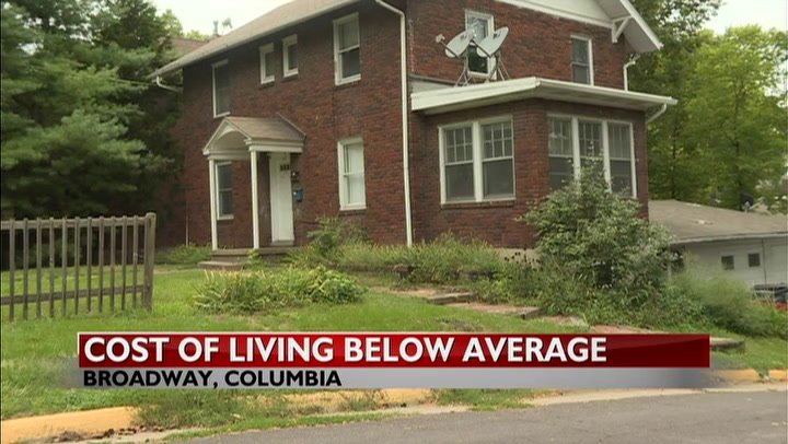 Columbia ranks below national average in cost of living