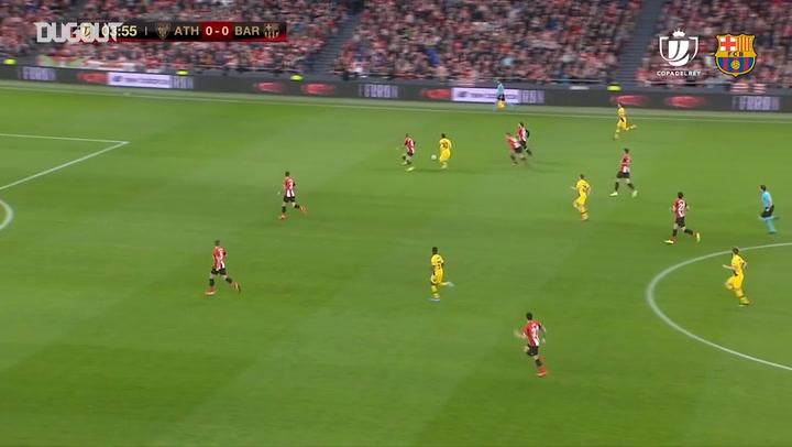 Highlights: Athletic Bilbao 1-0 FC Barcelona