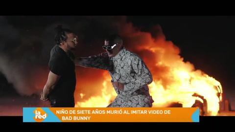 Niño de siete años murió al imitar video de Bad Bunny
