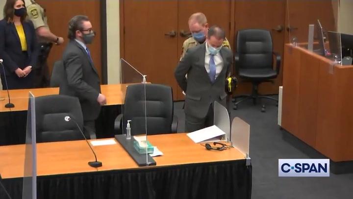 ️ Un jurado popular declara al expolicía Derek Chauvin culpable del asesinato de George Floyd