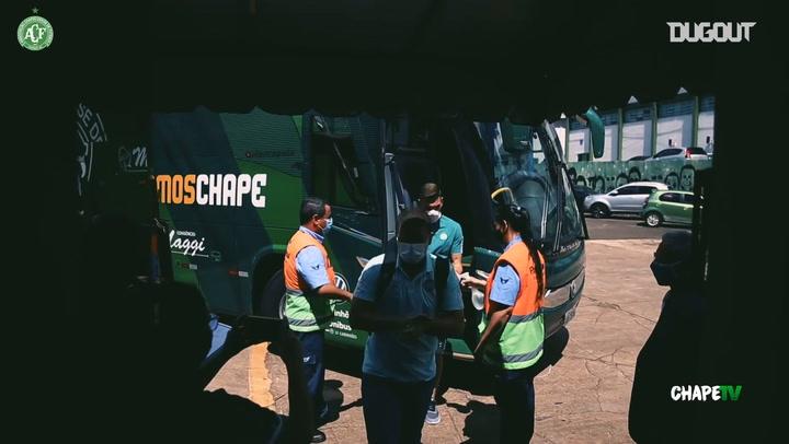 Behind the scenes of Chapecoense draw vs Brasil de Pelotas