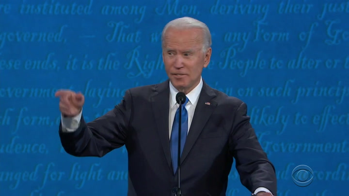 Joe Biden: Hunter Biden Email Story 'a Smear Campaign'