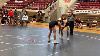 Staples-Motley's Logen Weite scores a takedown for OT win