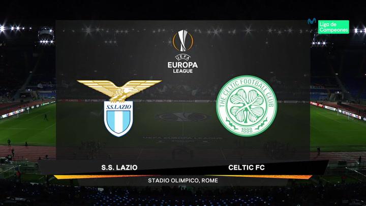 Europa League: Resumen y Goles del Lazio - Celtic