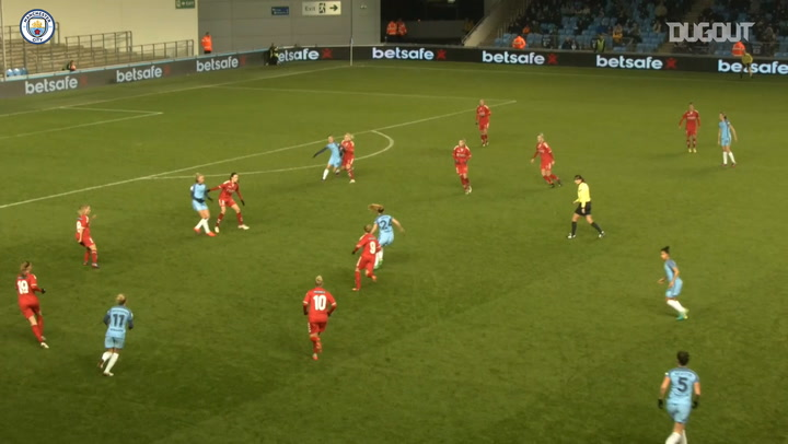 Keira Walsh scores long range effort against Brondby
