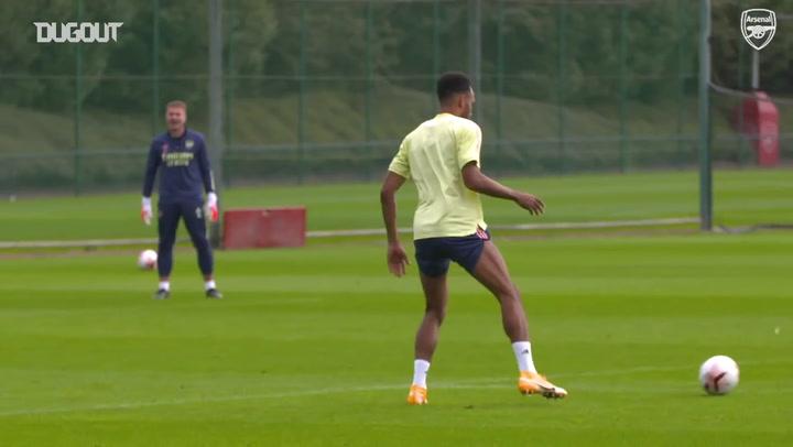 Latihan Arsenal: Momen Terbaik Aubameyang