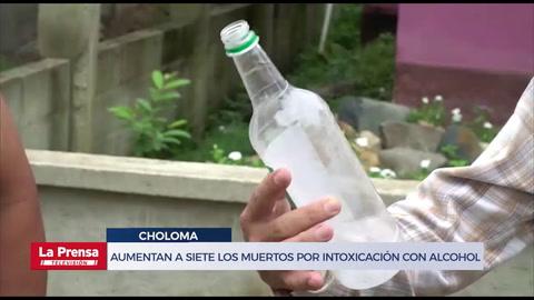 Aumentan a siete los muertos por intoxicación con alcohol adulterado