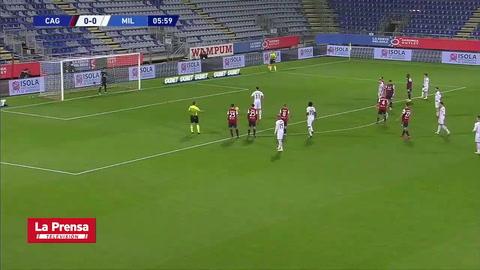 Cagliari 0-2 AC Milan (Serie A)