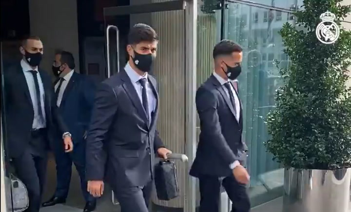 El Real Madrid ya se encuentra camino al estadio del City