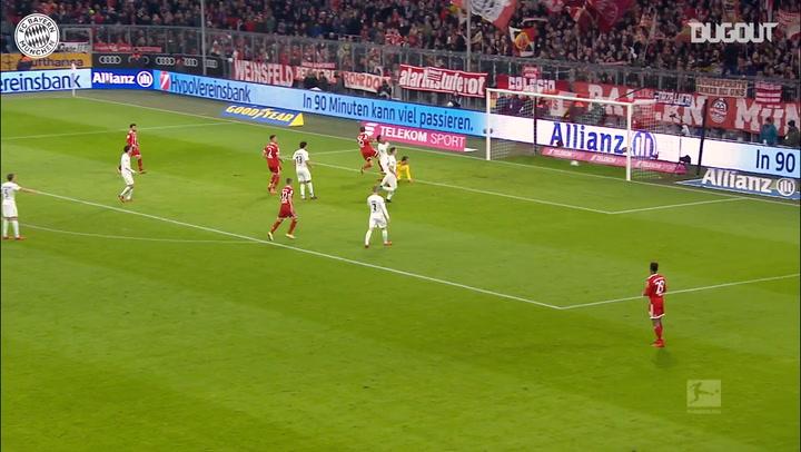Best Assists: James Rodríguez For Thomas Müller Vs Werder Bremen