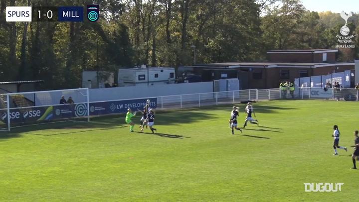 Spurs Women thrash Lionesses 8-0