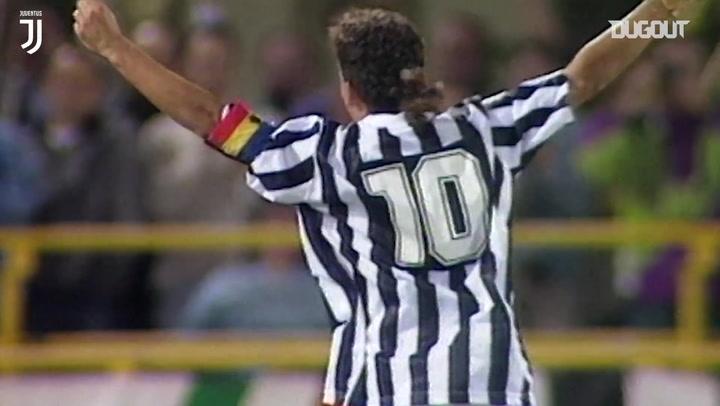 أفضل لحظات روبيرتو باجيو في مسيرته مع يوفنتوس