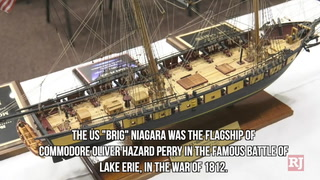 Air Force veteran builds model of famous ship – VIDEO