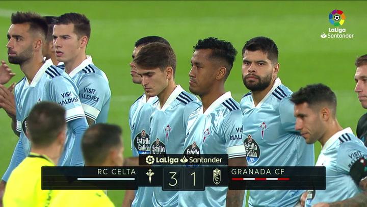 LaLiga Santander (J11): Resumen y goles del Celta 3-1 Granada
