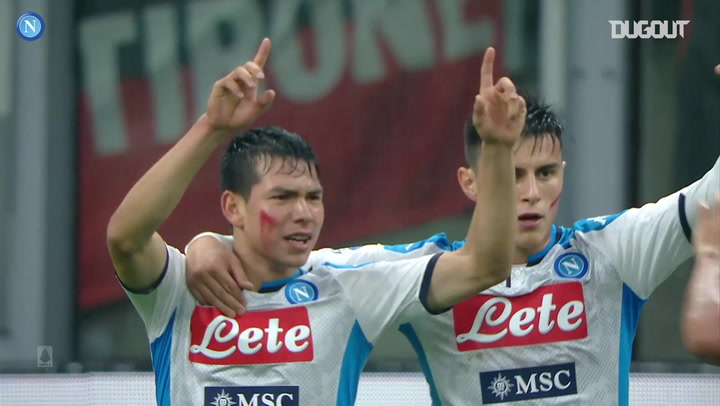Hirving Lozano's best moments with Napoli