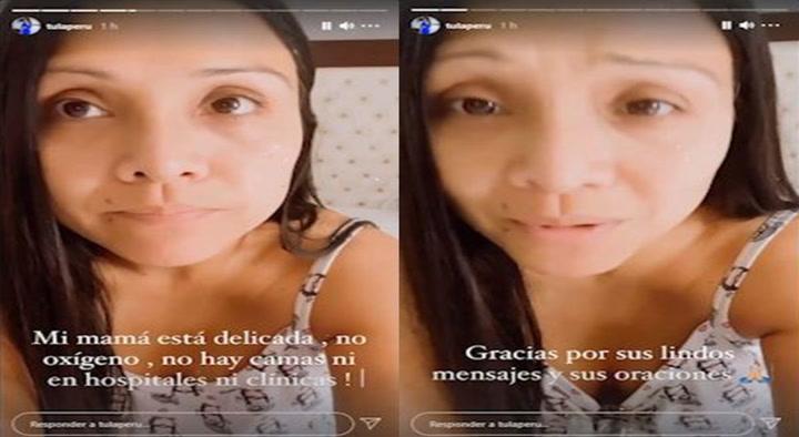 Tula Rodríguez confiesa que su mamá se encuentra delicada por COVID-19